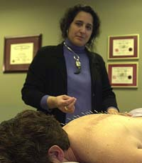 Accupuncture at Circle of Healing by Jennifer Jacoby